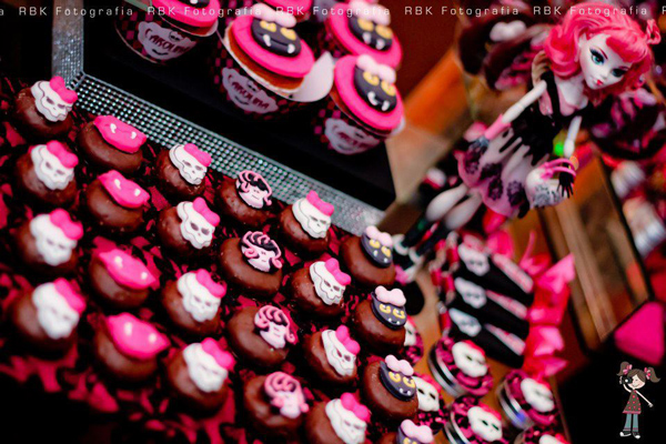 Monster High 8th Birthday Party via Kara's Party Ideas | Kara'sPartyIdeas.com #monster #high #birthday #party (30)