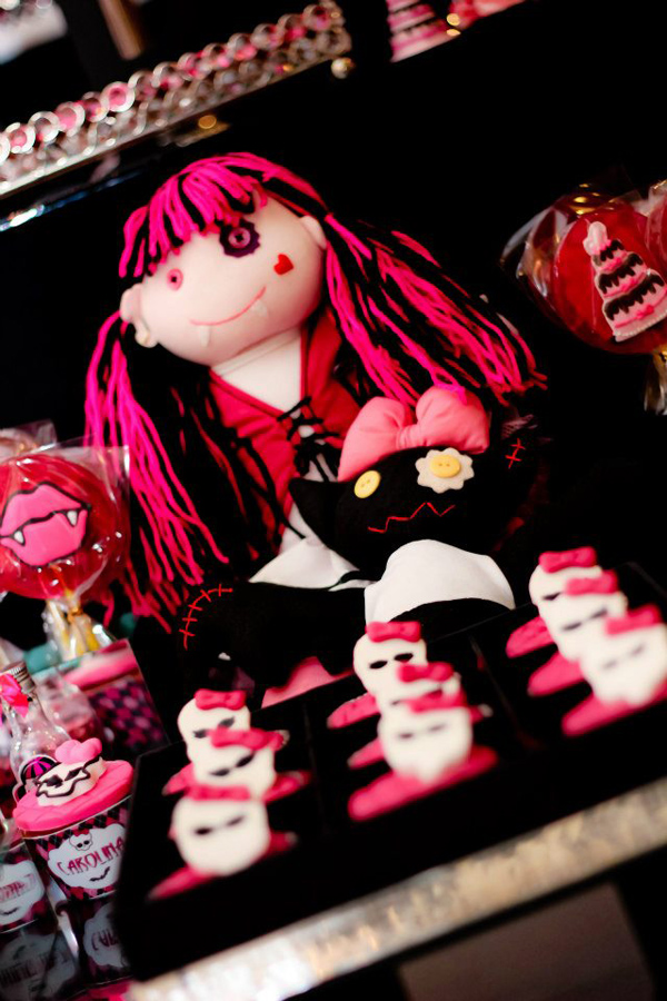 Monster High 8th Birthday Party via Kara's Party Ideas | Kara'sPartyIdeas.com #monster #high #birthday #party (3)