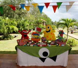 Monster Themed Birthday Party via Kara's Party Ideas | Kara'sPartyIdeas.com #monster #birthday #party (17)