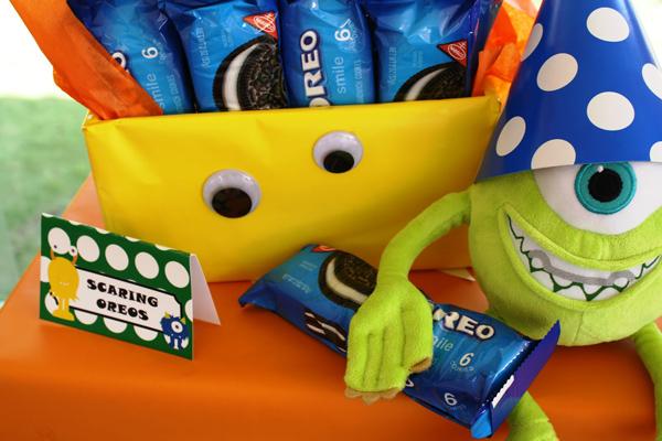 Monster Themed Birthday Party via Kara's Party Ideas | Kara'sPartyIdeas.com #monster #birthday #party (13)