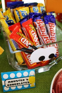 Monster Themed Birthday Party via Kara's Party Ideas | Kara'sPartyIdeas.com #monster #birthday #party (10)