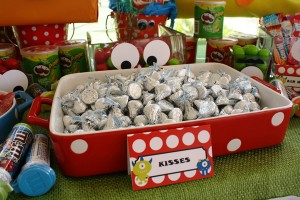 Monster Themed Birthday Party via Kara's Party Ideas | Kara'sPartyIdeas.com #monster #birthday #party (9)