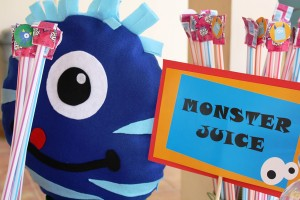 Monster Themed Birthday Party via Kara's Party Ideas | Kara'sPartyIdeas.com #monster #birthday #party (6)
