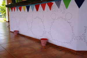 Monster Themed Birthday Party via Kara's Party Ideas | Kara'sPartyIdeas.com #monster #birthday #party (4)