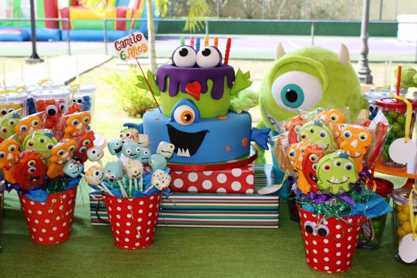 Monster Themed Birthday Party via Kara's Party Ideas | Kara'sPartyIdeas.com #monster #birthday #party (22)