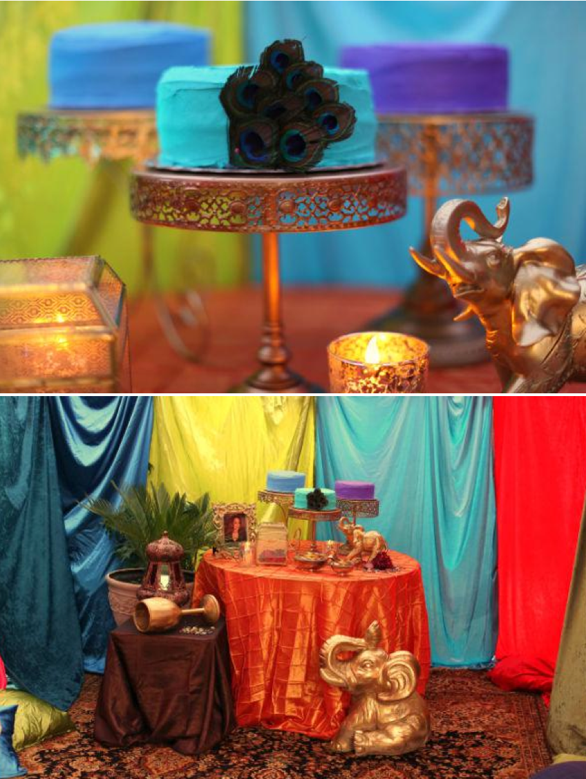 Moroccan Dinner Party Ideas Part - 44: Moroccan Midnight Motheru0027s Day Dinner Party With TONS Of Ideas! Via Karau0027s Party  Ideas |