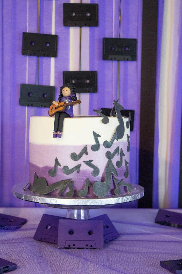 Kara S Party Ideas Musical 7th Birthday Party Planning
