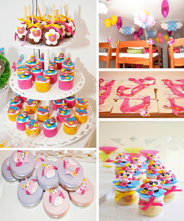 Karas Party Ideas Night Owl Sleepover Ninth Birthday Party Supplies