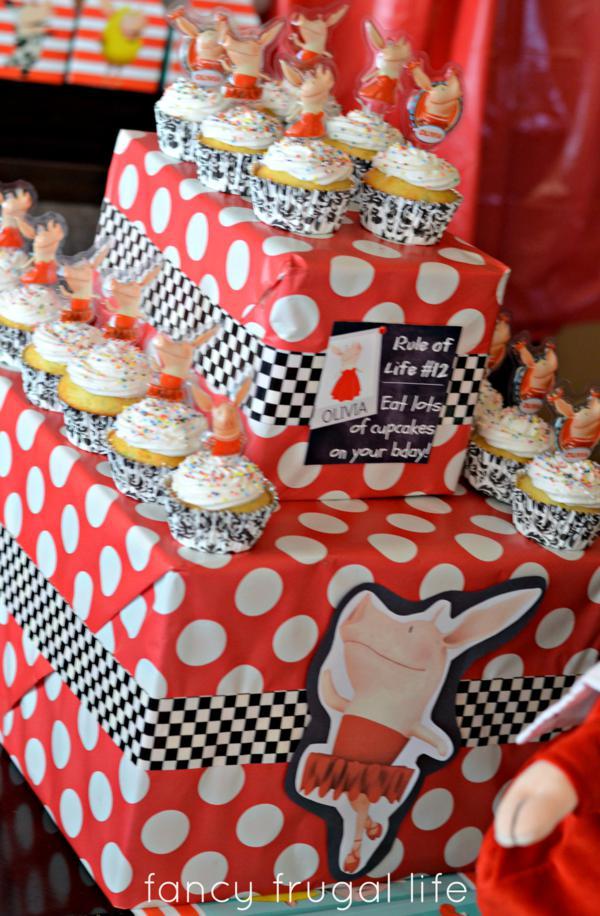 Budget Friendly Olivia Pig Birthday Party via Kara's Party Ideas | KarasPartyIdeas.com #olivia #pig #birthday #party #ideas (11)