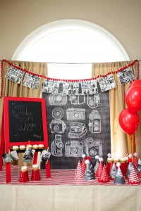 Year in an Instant Instagram 1st Birthday Party via Kara's Party Ideas | KarasPartyIdeas.com #instagram #picture #1st #first #birthday #party #ideas (24)
