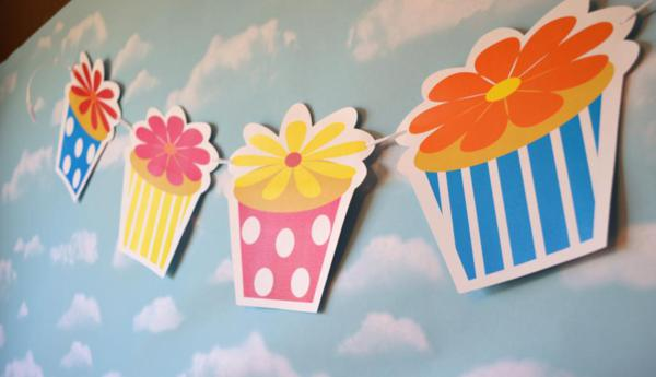 Cupcake in Bloom Spring Dessert Party via Kara's Party Ideas | KarasPartyIdeas.com #cupcake #bloom #spring #dessert #table #party #ideas (16)