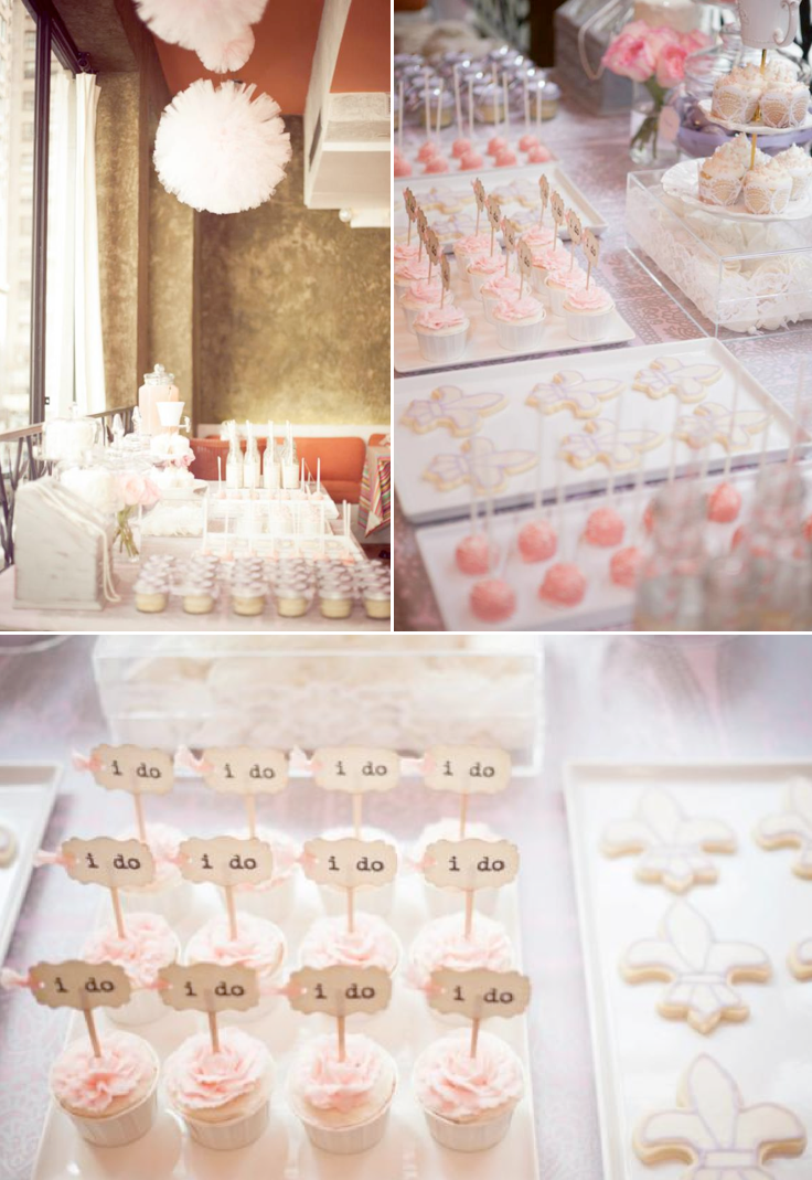 Karas Party Ideas Vintage Parisian Paris Girl Bridal Shower Party