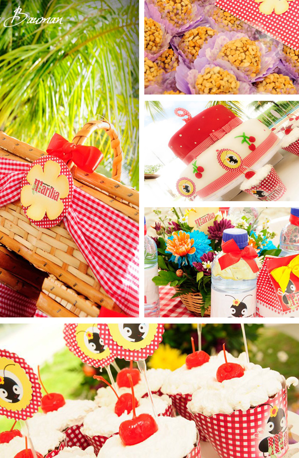 Picnic Themed 9th Birthday Party via Kara's Party Ideas | Kara'sPartyIdeas.com #picnic #themed #9th #birthday #party (20)