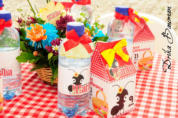 Picnic Themed 9th Birthday Party via Kara's Party Ideas | Kara'sPartyIdeas.com #picnic #themed #9th #birthday #party (11)
