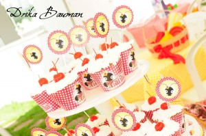 Picnic Themed 9th Birthday Party via Kara's Party Ideas | Kara'sPartyIdeas.com #picnic #themed #9th #birthday #party (10)