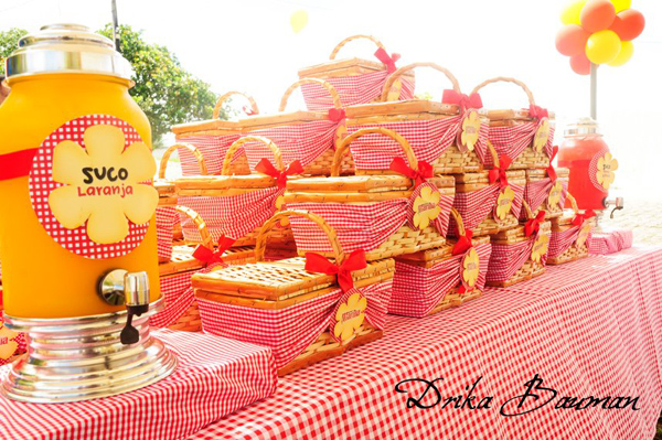 Picnic Themed 9th Birthday Party via Kara's Party Ideas | Kara'sPartyIdeas.com #picnic #themed #9th #birthday #party (8)