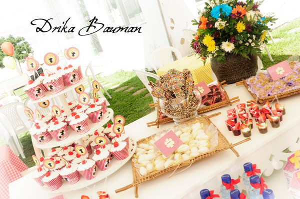 Picnic Themed 9th Birthday Party via Kara's Party Ideas | Kara'sPartyIdeas.com #picnic #themed #9th #birthday #party (5)