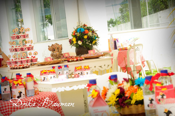 Picnic Themed 9th Birthday Party via Kara's Party Ideas | Kara'sPartyIdeas.com #picnic #themed #9th #birthday #party (3)