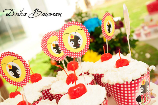 Picnic Themed 9th Birthday Party via Kara's Party Ideas | Kara'sPartyIdeas.com #picnic #themed #9th #birthday #party (2)
