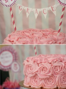 Pink and Purple Carousel Birthday Party via Kara's Party Ideas | Kara'sPartyIdeas.com #pink #purple #carousel #birthday #party (3)