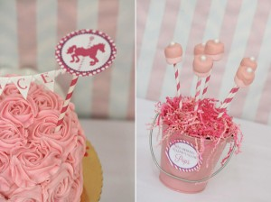 Pink and Purple Carousel Birthday Party via Kara's Party Ideas | Kara'sPartyIdeas.com #pink #purple #carousel #birthday #party (2)