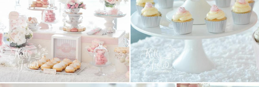 Pretty Pink Vintage Wedding with tons of gorgeous ideas via Kara's Party Ideas KarasPartyIdeas.com #vintage #pink #wedding #ideas #dessert #table #idea