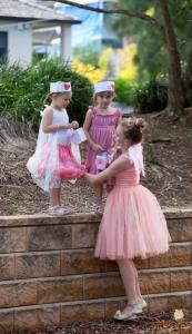 Sweet Jane's traveling teahouse cupcake trailer birthday party via Kara's Party Ideas #tea #party #jane #treehouse #sweet #idea (6)