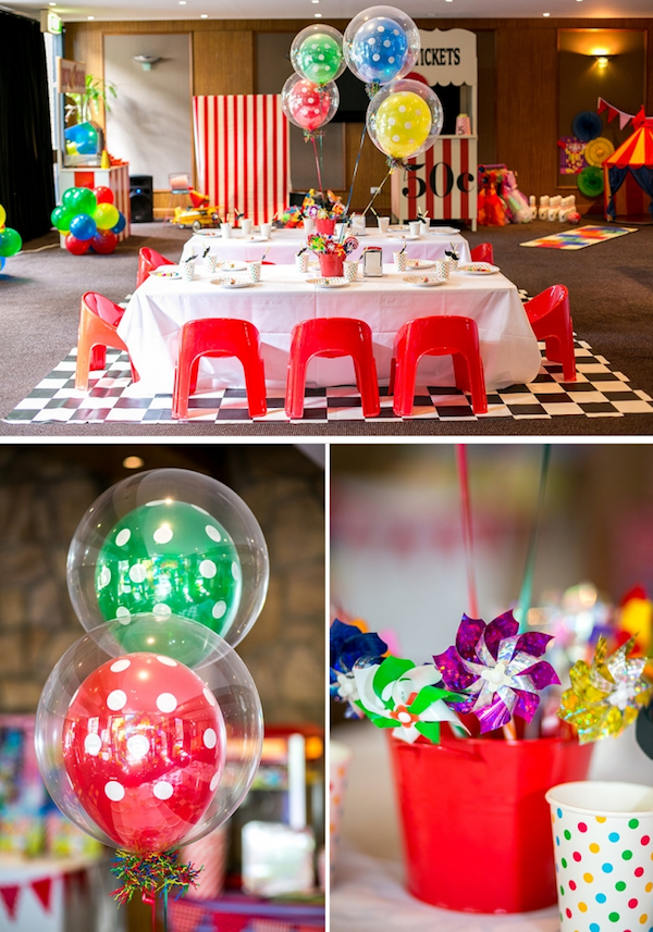 kara 39 s party ideas circus carnival boy girl 5th birthday