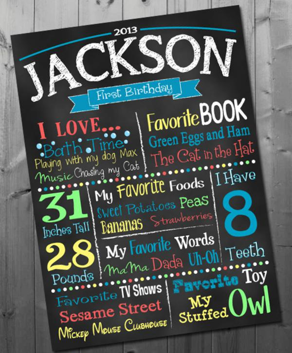 Chalkboard Art Printable Posters via Kara's Party Ideas | KarasPartyIdeas.com #chalkboard #printable (7)