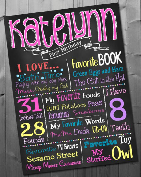 Chalkboard Art Printable Posters via Kara's Party Ideas | KarasPartyIdeas.com #chalkboard #printable (6)