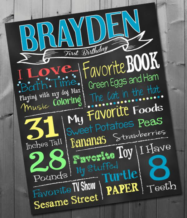 Chalkboard Art Printable Posters via Kara's Party Ideas | KarasPartyIdeas.com #chalkboard #printable (2)