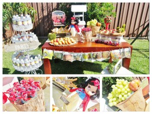Snow White Birthday Party #snow #white #birthday #party #ideas (24)