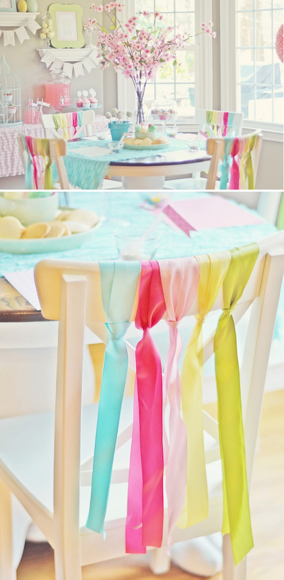 Spring cookie decorating party with tons of ideas! Via Kara's Party Ideas KarasPartyIdeas.com #spring #easter #decorating #party #cookie #idea