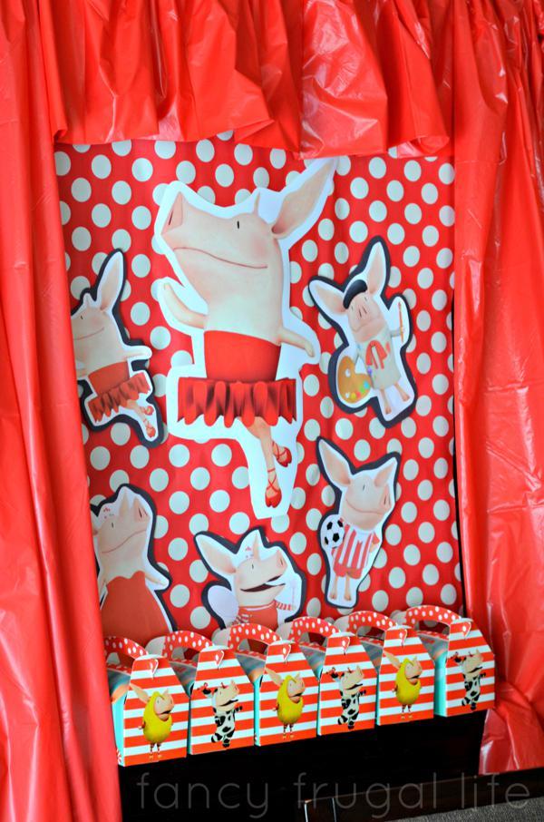 Budget Friendly Olivia Pig Birthday Party via Kara's Party Ideas | KarasPartyIdeas.com #olivia #pig #birthday #party #ideas (1)