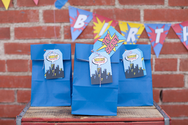 Vintage Superhero Birthday Party via Kara's Party Ideas | Kara'sPartyIdeas.com #vintage #superhero #birthday #party (3)
