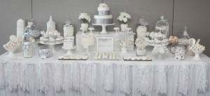 White and Silver Wedding via Kara's Party Ideas | Kara'sPartyIdeas.com #white #silver #wedding (46)