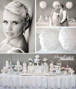 White and Silver Wedding via Kara's Party Ideas | Kara'sPartyIdeas.com #white #silver #wedding (26)