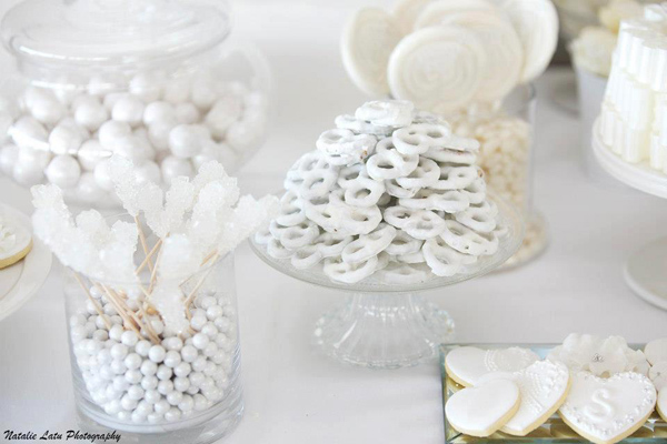 White and Silver Wedding via Kara's Party Ideas | Kara'sPartyIdeas.com #white #silver #wedding (18)