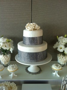 White and Silver Wedding via Kara's Party Ideas | Kara'sPartyIdeas.com #white #silver #wedding (17)