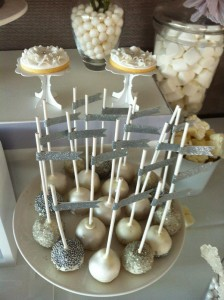 White and Silver Wedding via Kara's Party Ideas | Kara'sPartyIdeas.com #white #silver #wedding (14)