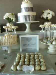White and Silver Wedding via Kara's Party Ideas | Kara'sPartyIdeas.com #white #silver #wedding (7)