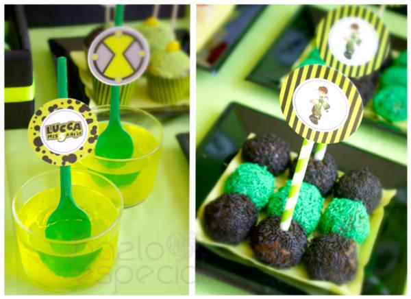 Kara S Party Ideas Ben 10 Alien Themed Birthday Party