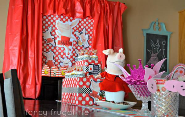 Budget Friendly Olivia Pig Birthday Party via Kara's Party Ideas | KarasPartyIdeas.com #olivia #pig #birthday #party #ideas (12)