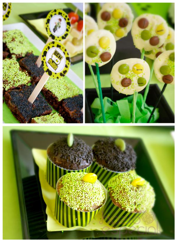 Ben 10 Party via Kara's Party Ideas | KarasPartyIdeas.com #ben #10 #party #ideas (6)