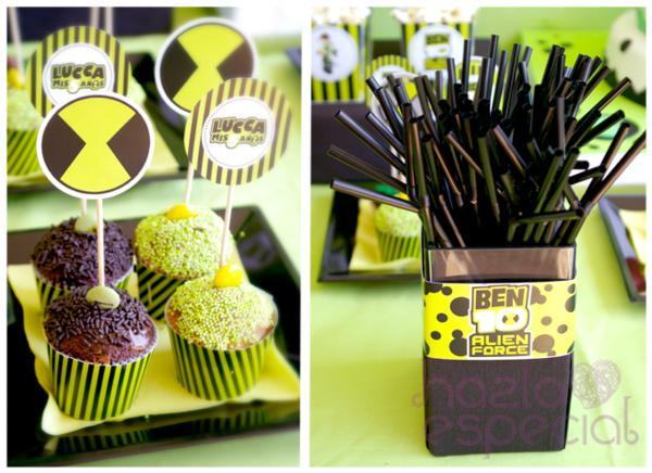 Ben 10 Party via Kara's Party Ideas | KarasPartyIdeas.com #ben #10 #party #ideas (4)