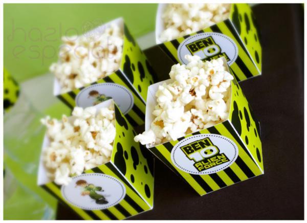 Ben 10 Party via Kara's Party Ideas | KarasPartyIdeas.com #ben #10 #party #ideas (2)