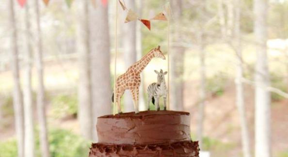 Girly Safari Themed 5th Birthday Party   Kara's Party Ideas