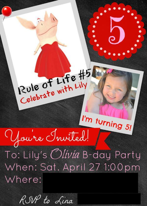 Budget Friendly Olivia Pig Birthday Party via Kara's Party Ideas | KarasPartyIdeas.com #olivia #pig #birthday #party #ideas (6)