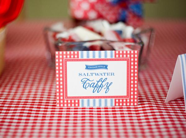 County Fair Patriotic Picnic Party via Kara's Party Ideas | KarasPartyIdeas.com #county #fair #vintage #patriotic #picnic #july #fourth #4th #independence #memorial #day #party #ideas (14)