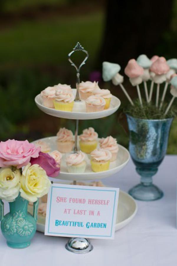 Alice in Wonderland Tea Party via Kara's Party Ideas | KarasPartyIdeas.com #alice #wonderland #tea #party #ideas (40)